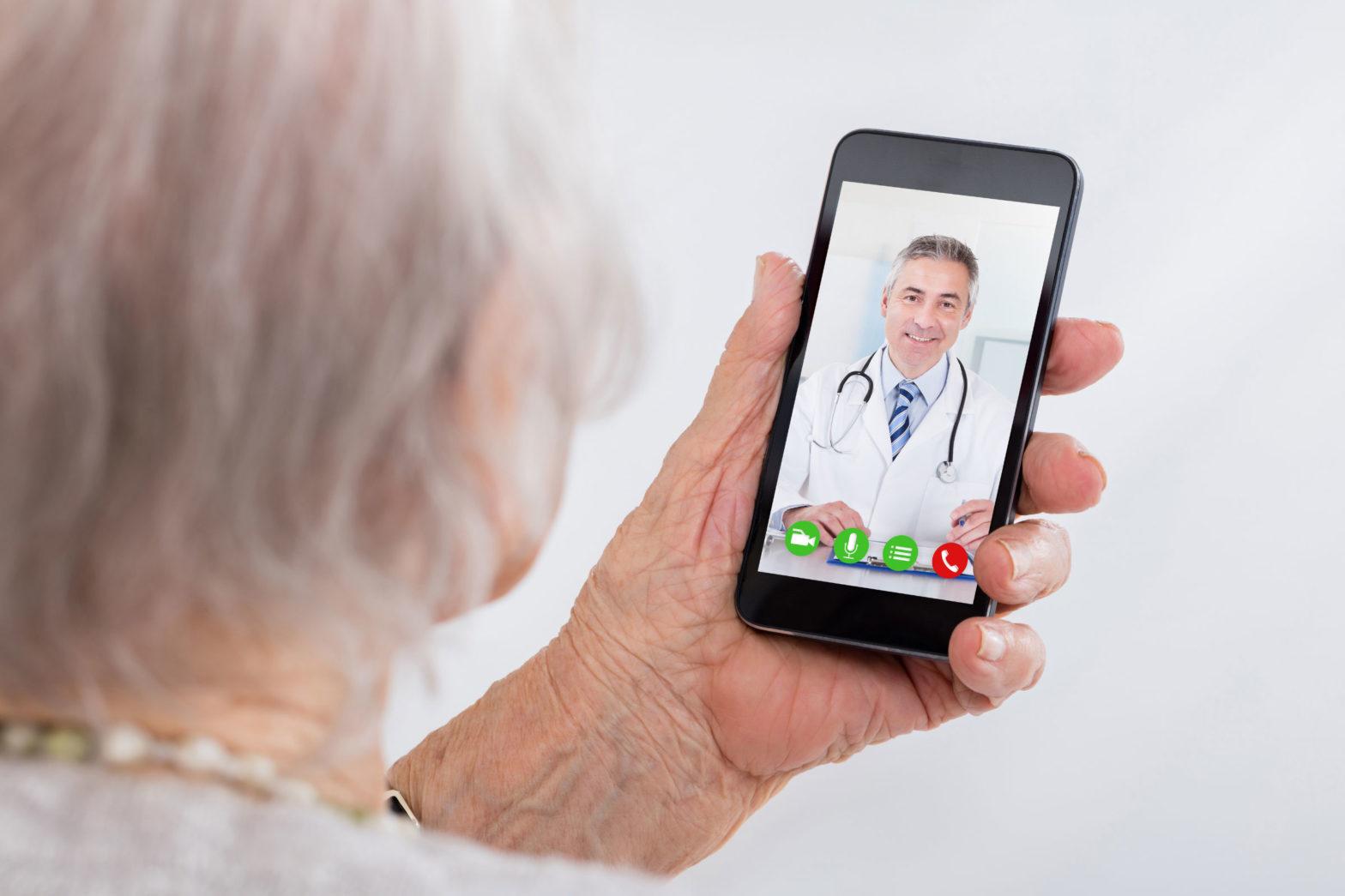 telemedicina paciente idoso dr tis